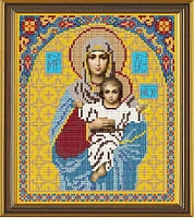 Новая Слобода БИС9006 Богородица, схема под бисер
