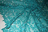 Ткань Кружево макраме D&G.Бирюза.