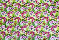 """Подарочная бумага для упаковки  """" Цветы """" , размер 707х1000 мм"""