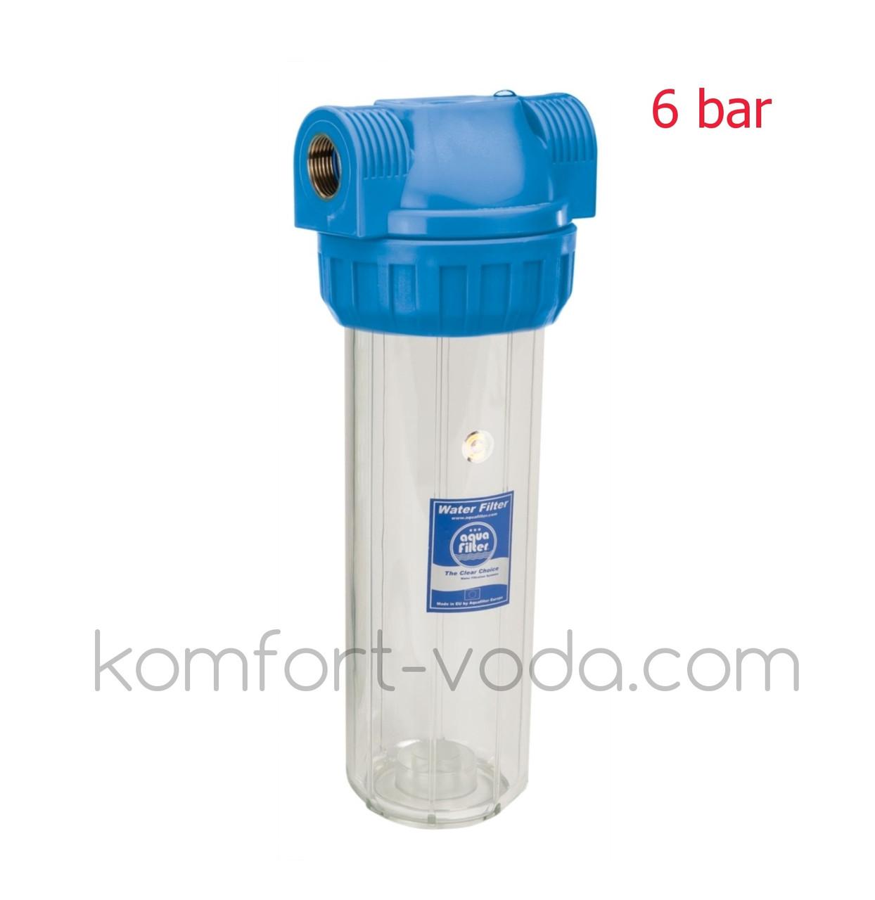"""Корпус фильтра для холодной воды Aquafilter FHPR1-3S, 1"""""""