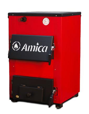 Котел твердотопливный Amica Optima 14 P