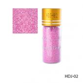 Розовый блеск в стеклянной бутылочке Lady Victory