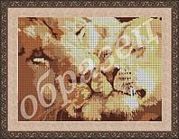 Фея Вышивки ВП-60 Лев и львица, схема под бисер