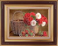 Фурор рукоделия НБч3-4 Цветы и ягоды, схема для вышивания бисером