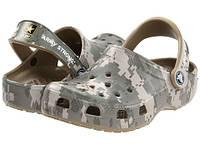 Кроксы для мальчика Классик Камуфляж оригинал / Сабо Crocs Kids' Classic Digi Camo Clog