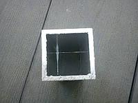 Квадратная труба алюминиевая  40*40*3 мм
