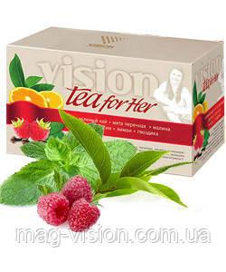 Насыщенный антиоксидантами чай Визион позволяет предотвратить преждевременные возрастные изменения, способствует повышению общего тонуса, а также помогает быстрее избавиться от усталости