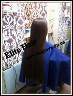 Детские славянские Волосы Натуральные Срез 55 см  Не окрашенный Натуральный