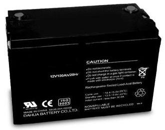 Аккумулятор AGM - 100 Ач, 12В гелевый TopPower (Great Power) PG 12100