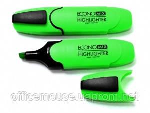 Маркер Economix 11001-04 зеленый,10шт.