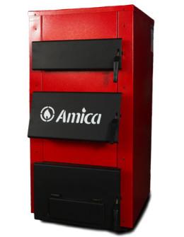 Котел твердотопливный Amica Solid 23 кВт - универсальный