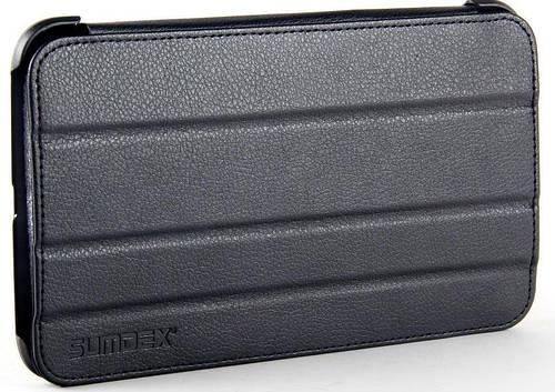 Функциональный чехол для планшета Samsung Galaxy Tab3 с диагональю 8 SUMDEX, ST3-820BK черный