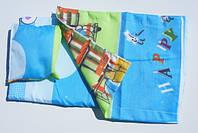 Набір постелі для лялькового ліжечка (подушка,матрасик,ковдра під розмір ліжечка 25*45см)