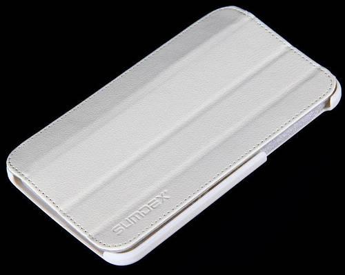 Прочный чехол для планшета Samsung Galaxy Tab3 с диагональю 8 SUMDEX, ST3-820WT белый
