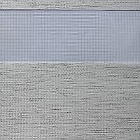 Рулонные шторы День-Ночь Ткань Кения ВН 31 White