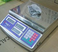 Торговы весы Domotec до 50 кг  (Германия) корпус из нержавеющей стали, фото 1