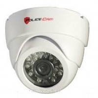Купольная AHD видеокамера PoliceCam PC-317AHD720P W