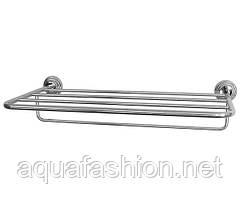 Полка для полотенец с держателем Paccini&Saccardi Accessori Doccia 30151 хром