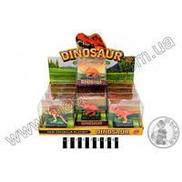 Динозавр муз.  (12 видів) ТВ001 р.9,5х4,5х9см.