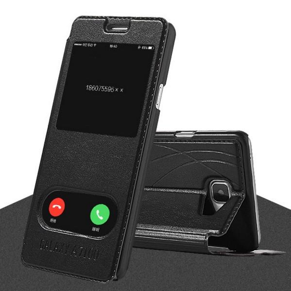 Чехол-книга с окошком для Samsung Galaxy A7 A710
