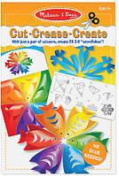 Набор для творчества Melissa & Doug Создай бумажные снежинки (MD4230)