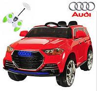 Электромобиль детский с мягкими колесами Audi M 2763 (MP4) EBR-3 красный