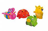 Набор игрушек для купания Canpol Babies «Зверьки» (2/997)