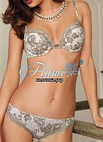 Комплект  белья с изысканным цветочным принтом Sielei 5344