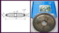 Круг двухсторонний 14EE1;А2П. А.двухсторонний (концентрация алмазов 100%)