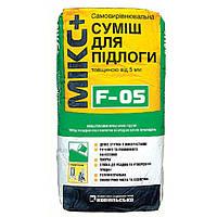 Самовыравнивающая смесь для пола Siltek F-05 Микс+ толщиной от 5-20 мм