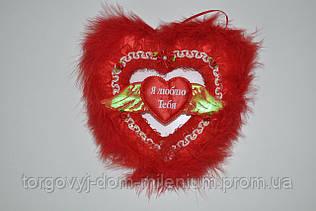 Сувенир-подвеска Сердце большое 3-205