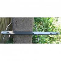 Траверса Т401 для крепления оптоволоконных кабелей на бетонных опорах, металических столбах освещения и прочих