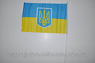 Флаг Украина  45/28 см флаг