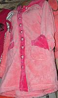 Халат махровый женский пуговица 333 (О.Б.), фото 1