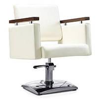 Парикмахерское кресло MILO DP- 1123, крем