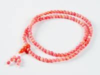 Четки из розового коралла