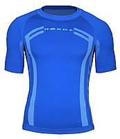 Термо футболка для спорта Norde Blue, фото 1