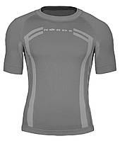 Термо футболка для спорта Norde Grey
