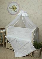 Комплект постельного белья в детскую кроватку Симпатяшка