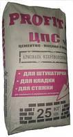 Цементно-песчаная смесь (ЦПС) Профит, 25 кг