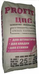 Цементно-піщана суміш (ЦПС) Профіт, 25 кг