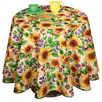 Клеенка столовая Декорама Летние цветы, создайте летнее настроение на кухне