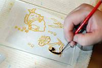 Оргстекло для рисования витражными красками