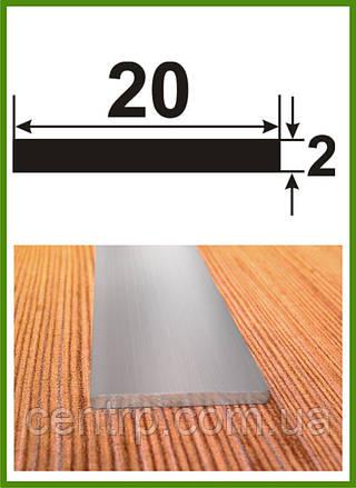 20*2. Алюминиевая полоса (шина). Без покрытия. Длина 3,0м.
