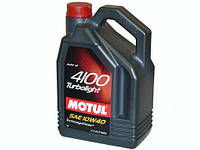 Motul 4100 Turbolight 10W-40 (5л)