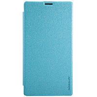 Кожаный чехол Nillkin Sparkle для Sony Xperia T3 D5102 голубой