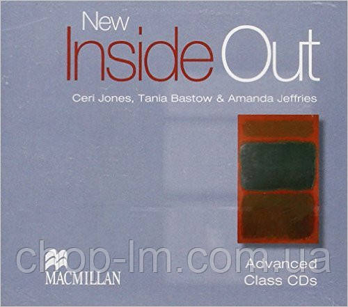 New Inside Out Advanced Class Audio CD (аудио диск)