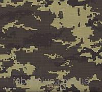 Ткань  Рип- стоп  210  80/20  пограничник