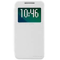 Кожаный чехол Nillkin Sparkle для HTC Desire 510 белый