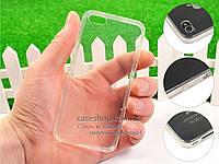 Ультратонкий 0,3мм силиконовый чехол для Apple iPhone 5S
